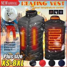 Vest, heatedjacket, Outdoor, usb