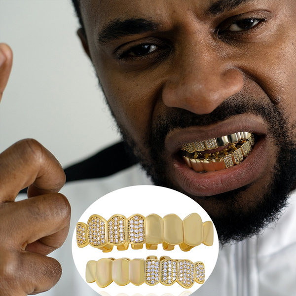 Cubic Zirconia, teethgrill, DIAMOND, Jewelry