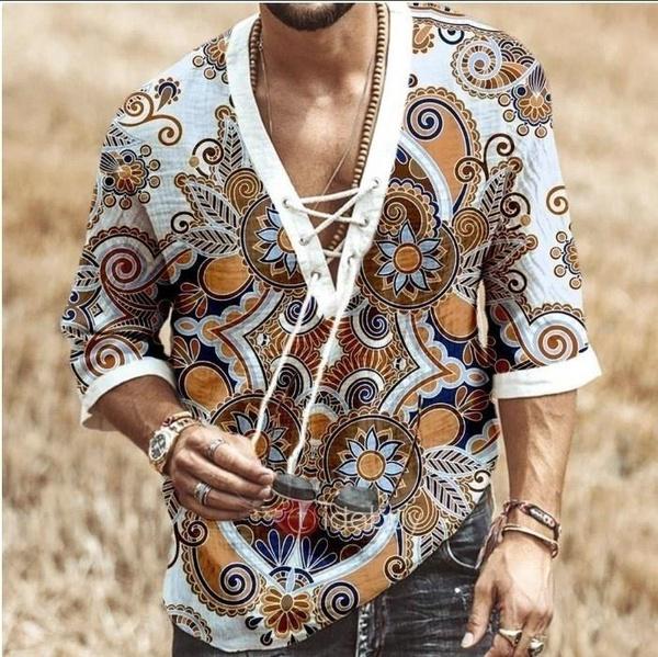 bohemia, vikingshirt, Fashion, Shirt