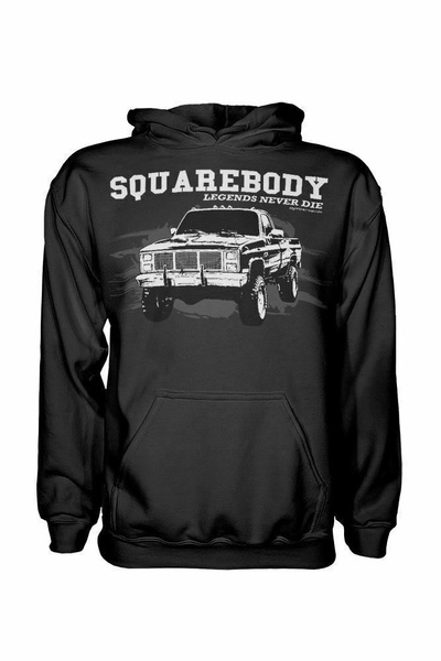 Body, Chevy, Square, Hoodies