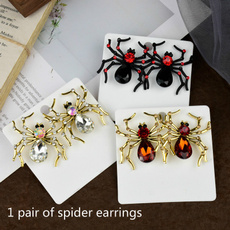 Fashion, Jewelry, spiderearring, animalearring