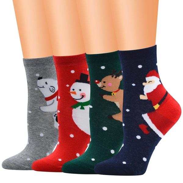 womensock, Christmas, shortsock, Socks