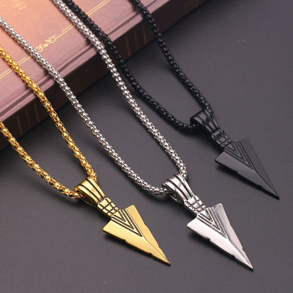 Triangles, Jewelry, gold, mens necklaces