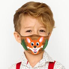 Cloth, Fox, kids