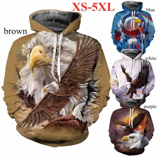 Eagles, Fashion, americanflageagle, sportsweatshirt