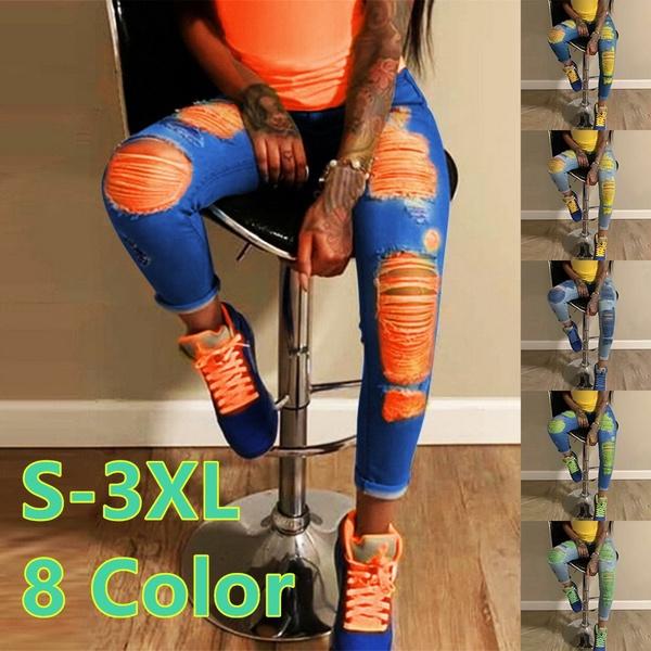 Fashion, straightjean, pants, rippedjean
