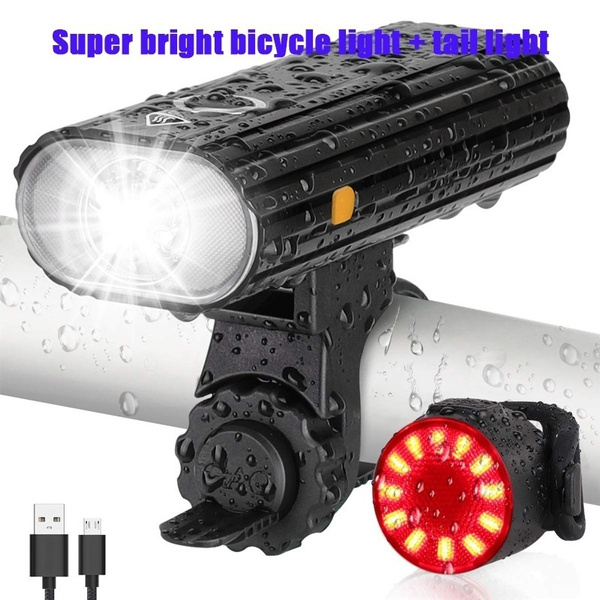Flashlight, Bicycle, LED Headlights, led