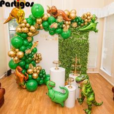 decoration, safari, Garland, Dinosaur