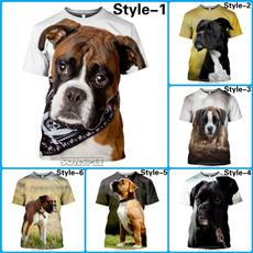 Shorts, 3dtshirtmen, Sleeve, dogboxertshirt
