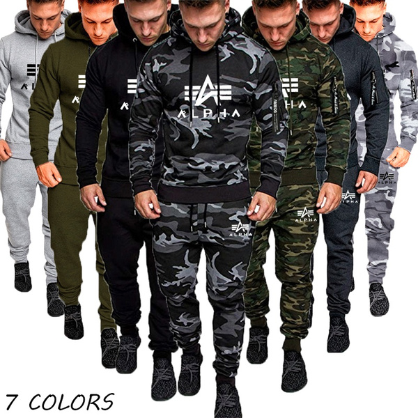Two-Piece Suits, Hoodies, menstrackpant, pants