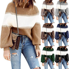 Plus Size, Winter, Women Fashion, Sweaters