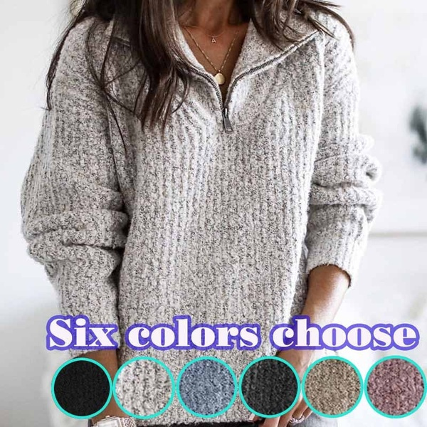 Plus Size, long sleeve sweater, pullover sweater, Long Sleeve