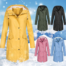 Casual Jackets, waterproofjacket, Winter, sunsetlongjacket