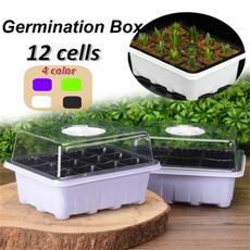 Box, nurserycontainer, Plants, plasticplantpot