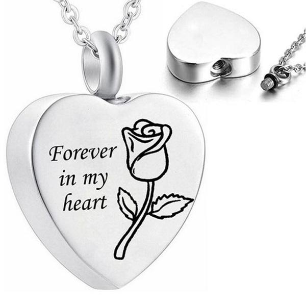 Heart, Chain Necklace, Jewelry, Cross Pendant