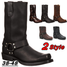 westernwear, ankle boots, Plus Size, Leather Boots