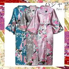 gowns, kimonobathrobe, longrobe, printed