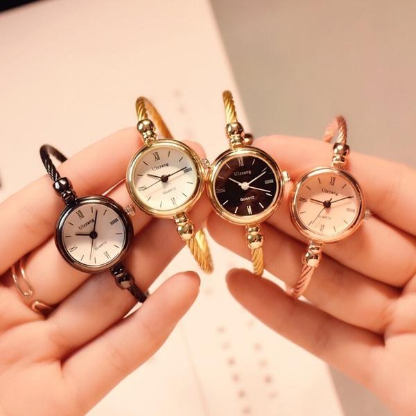 Fashion, gold, Bracelet Watch, Dress