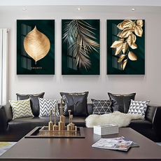 golden, modernstyle, art, Home Decor