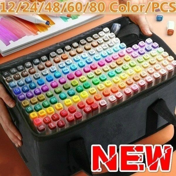 Art Supplies, Head, artmarker, colorpen