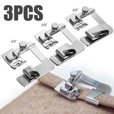 Machine, hemmingclothpresserfoot, Sewing, sewingmachineaccessorie