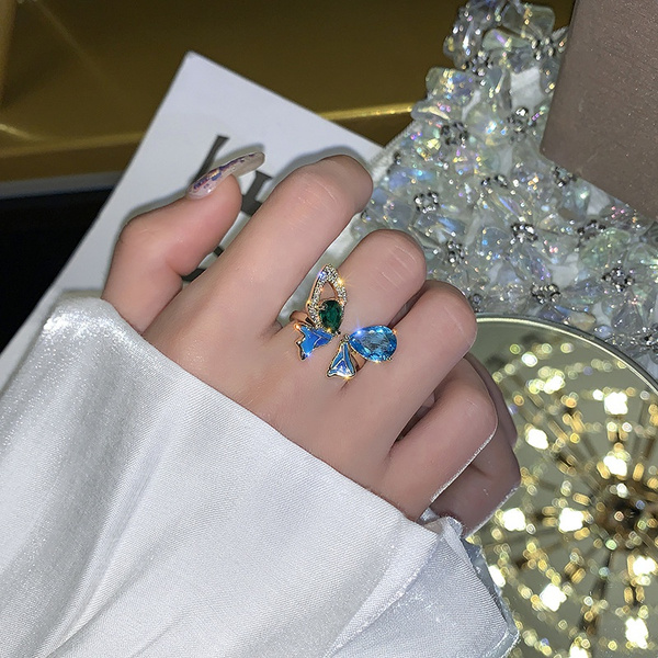 Blues, butterfly, Fashion, Jewelry