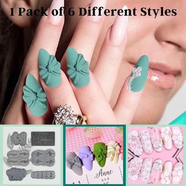 siliconenailartmold, butterfly, lollipop, polishdesigndecoratediytool