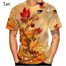 leaf, Shirt, 3dshortsleevetshirt, 3dmapleleaftshirt