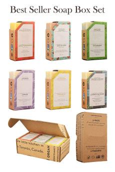 Box, facewashsoap, coldprocesssoap, vegancoldsoap