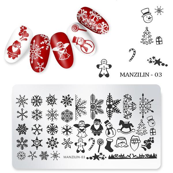 nailstamping, art, Christmas, Beauty
