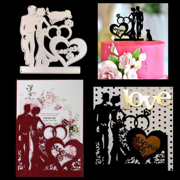stencil, Love, weddingcuttingdie, craftmetalcuttingdie