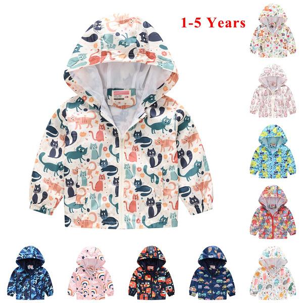 windproofjacket, Baby Girl, hooded, hoodedjacket