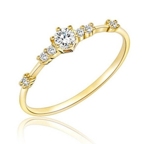 DIAMOND, Jewelry, gold, Diamond Ring
