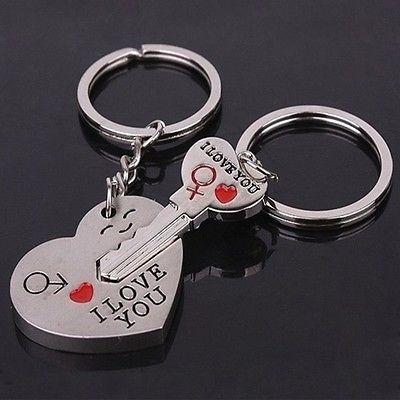 Heart, Key Chain, lover gifts, Chain