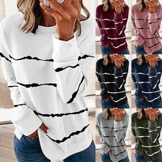 women pullover, hooded, Necks, Sweatshirts