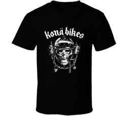 Fashion, Bicycle, Cotton T Shirt, skull