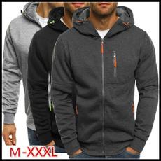 hoodiesformen, Fleece, Fashion, Coat