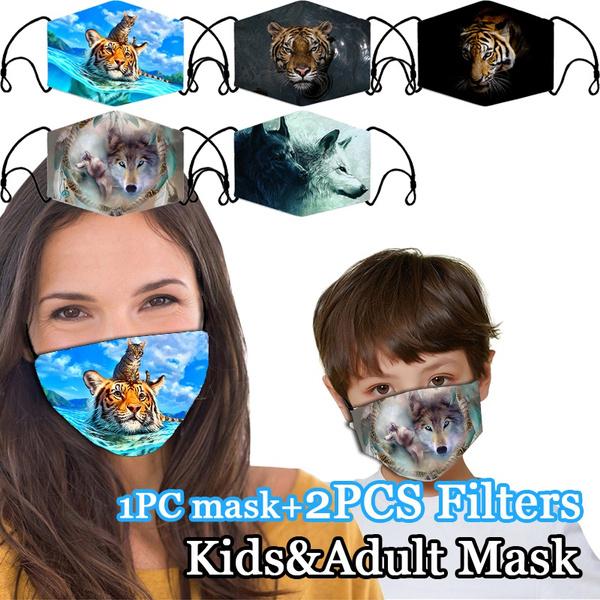 tigermask, Cotton, dustmask, unisex