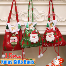 decoration, Christmas, Gifts, Gift Bags