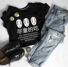 cute, Fashion, short sleeves, Japanese Anime