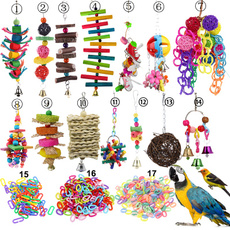 hangingcage, Bell, birdtoy, parrottoy
