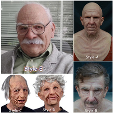 latex, oldmanmask, anonymousmask, Masquerade