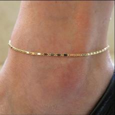 Sandals, barefoot, Jewelry, Chain