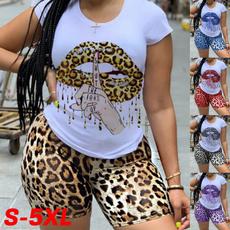 shortpantssuit, Plus Size, Tops & Blouses, Sleeve