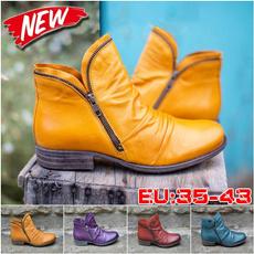 Plus Size, shoes women, leatherbootswomen, Women's Fashion