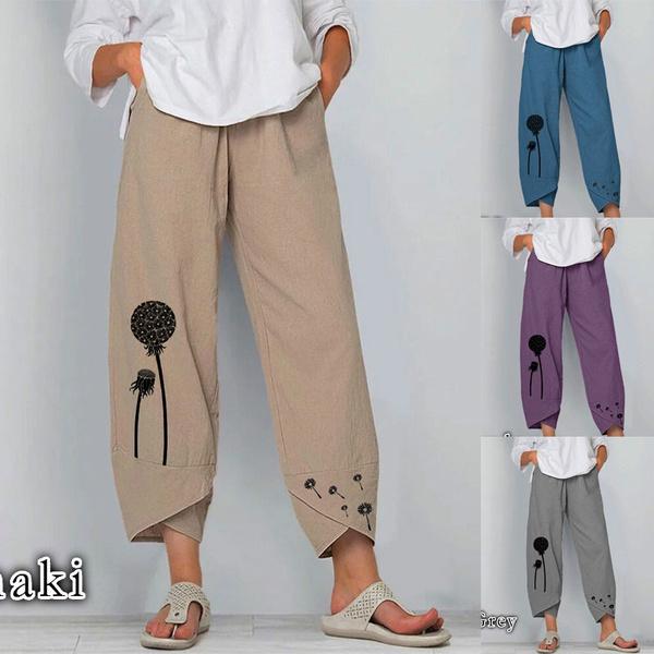 harem, Plus Size, Casual pants, pants