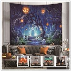 foresttapestry, Family, halloweenpartydecor, Halloween