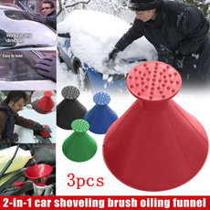 Automobiles Motorcycles, funnel, portable, windshieldicessnowremover