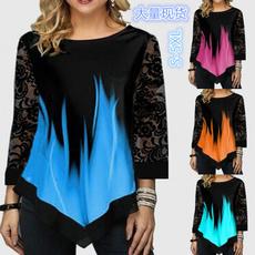 women pullover, blouse, Plus Size, Tops & Blouses