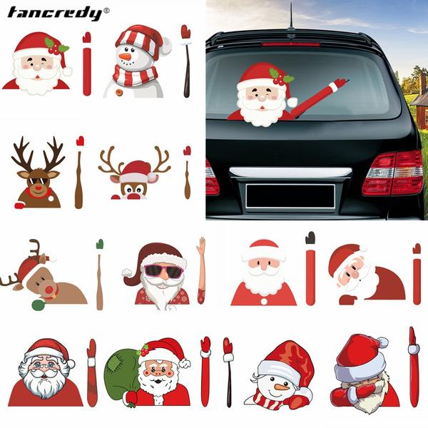Car Sticker, windowsticker, Christmas, Waterproof